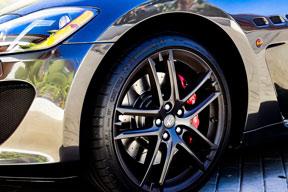 Maserati car tire